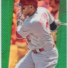 CARLOS BELTRAN 2013 Panini Prizm GREEN Parallel INSERT Card #156 ST LOUIS CARDINALS Free Shipping