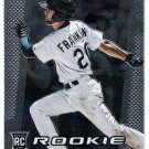 NICK FRANKLIN 2013 Panini Prizm ROOKIE Card #299 SEATTLE MARINERS Baseball FREE SHIPPING 299