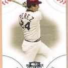 TONY PEREZ 2008 Donruss Threads Baseball Card #20 Cincinnati Reds FREE SHIPPING 20