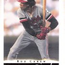 ROD CAREW 2003 Topps Gallery HOF Card #72 Anaheim Angels FREE SHIPPING Baseball 72