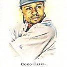 COCO CRISP 2008 Topps Allen & Ginter MINI SHORT PRINT Card #333 Boston Red Sox FREE SHIPPING