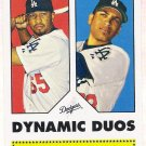 JAMES LONEY & MATT KEMP 2006 Topps 52 Dynamic Duos INSERT Card DD12 Los Angeles Dodgers