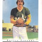ROLLIE FINGERS 2003 Topps Gallery HOF Card #70 Oakland A's FREE SHIPPING Baseball 70