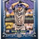 DEREK HOLLAND 2012 Topps Gypsy Queen Future Stars INSERT Card #FS-DH TEXAS RANGERS FREE SHIPPING