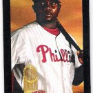 RYAN HOWARD 2009 Upper Deck Goodwin Champions Mini BLACK Border Insert Card106 PHILADELPHIA PHILLIES