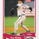 GREG MADDUX 2004 Fleer Tradition Card #41 Atlanta Braves FREE SHIPPING Baseball 41 HOF