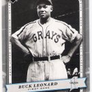 BUCK LEONARD 2005 Upper Deck Classics SILVER Parallel Card #16 #'d 63/399 FREE SHIPPING Baseball