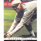 GEORGE SISLER 2003 Topps Gallery HOF Baseball Card #58 St Louis Browns FREE SHIPPING