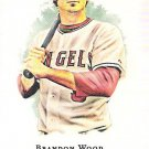 BRANDON WOOD 2008 Topps Allen & Ginter MINI SHORT PRINT Card #312 Anaheim Angels FREE SHIPPING
