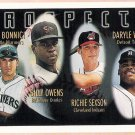 RICHIE SEXSON 1996 Topps Prospects ROOKIE Card #425 Cleveland Indians FREE SHIPPING Baseball RC