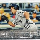 JOSE ABREU 2015 Topps Baseball Card #583 CHICAGO WHITE SOX Series 2 FREE SHIPPING 2