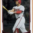 JUSTIN UPTON 2012 Bowman CHROME Card #183 ARIZONA DIAMONDBACKS Baseball FREE SHIPPING 183