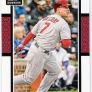MATT HOLLIDAY 2014 Panini Donruss Card #93 ST LOUIS CARDINALS Baseball FREE SHIPPING 93