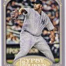 CC SABATHIA 2012 Topps Gypsy Queen SHORT PRINT Variation Card #150 NEW YORK YANKEES Free Shipping B