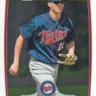 DREW LEACHMAN 2012 Bowman CHROME Prospects 1st ROOKIE Card #BCP123 MINNESOTA TWINS FREE SHIPPING