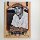 BILLY WILLIAMS 2012 Panini Cooperstown Card #150 CHICAGO CUBS Baseball FREE SHIPPING HOF 150