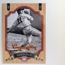WARREN SPAHN 2012 Panini Cooperstown Card #114 ATLANTA BRAVES Milwaukee Baseball FREE SHIPPING 114