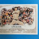 TIM LINCECUM 2012 Topps Allen & Ginter Card #109 SAN FRANCISCO GIANTS Baseball FREE SHIPPING 109
