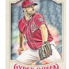 MAX SCHERZER 2016 Topps Gypsy Queen Baseball Card #131 WASHINGTON NATIONALS Free Shipping 131