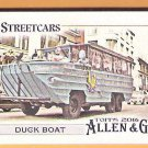 DUCK BOAT 2016 Topps Allen & Ginter Subways & Streetcars INSERT Card #SS-6 Baseball FREE SHIPPING