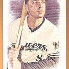 RYAN BRAUN 2016 Topps Allen & Ginter A&G BACK Mini Card #2 MILWAUKEE BREWERS Baseball FREE SHIPPING