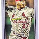 JHONNY PERALTA 2016 Topps Gypsy Queen PURPLE Mini INSERT Card #d 167/250 ST LOUIS CARDINALS #186