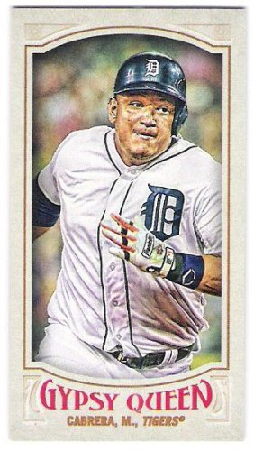 MIGUEL CABRERA 2016 Topps Gypsy Queen MINI Parallel INSERT Card #157 DETROIT TIGERS Baseball 157