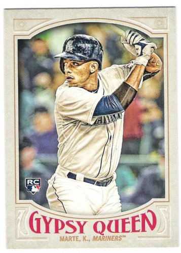 KETEL MARTE 2016 Topps Gypsy Queen ROOKIE Card #212 SEATTLE MARINERS Baseball FREE SHIPPING