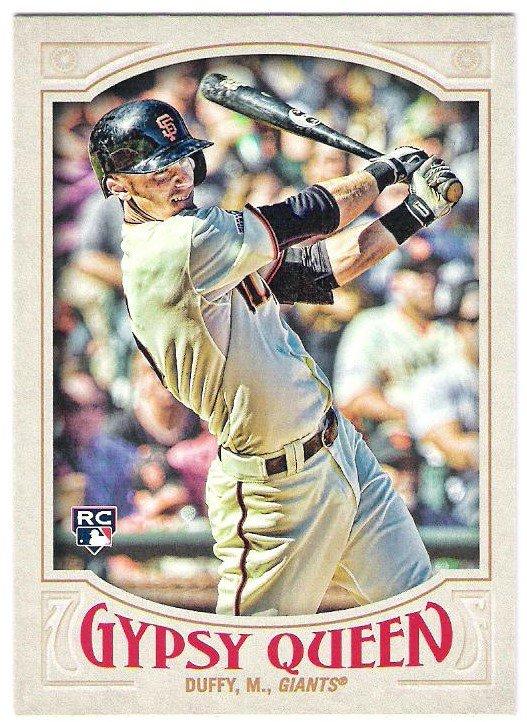 MATT DUFFY 2016 Topps Gypsy Queen ROOKIE Card #81 SAN FRANCISCO GIANTS Baseball FREE SHIPPING 81