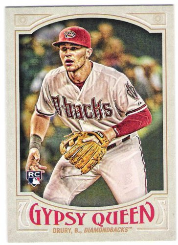 BRANDON DRURY 2016 Topps Gypsy Queen ROOKIE Card #287 ARIZONA DIAMONDBACKS Baseball FREE SHIPPING