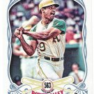 REGGIE JACKSON 2016 Topps Gypsy Queen Power Alley INSERT Card #PA-11 OAKLAND A's Baseball