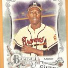 HANK AARON 2016 Topps Allen & Ginter Baseball Legends INSERT Card #BL-10 ATLANTA BRAVES Baseball 10