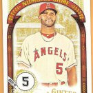 ALBERT PUJOLS 2016 Topps Allen & Ginter The Numbers Game INSERT Card #NG-54 ANAHEIM ANGELS Baseball