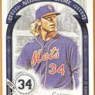 NOAH SYNDERGAARD 2016 Topps Allen & Ginter The Numbers Game INSERT Card #NG-1 NEW YORK METS Baseball
