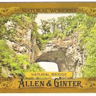 NATURAL BRIDGE 2016 Topps Allen & Ginter Natural Wonders INSERT Baseball Card #NW-7 Bridge Of God 7