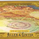 EYE OF THE SAHARA 2016 Topps Allen & Ginter Natural Wonders INSERT Baseball Card #NW-9 FREE SHIPPING