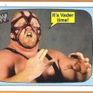 VADER 2012 WWE Topps Heritage Superstars Speak INSERT Card #17 Wrestling Leon White FREE SHIPPING