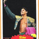 TITO SANTANA 2012 WWE Topps Heritage Legends Card #106 Wrestling WWF Hall Of Fame El Matador