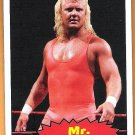 MR PERFECT 2012 WWE Topps Heritage Legends Card #92 Wrestling WWF Hall Of Fame CURT HENNIG WWF WCW
