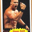 STEVE AUSTIN 2012 WWE Topps Heritage Wrestling Card #54 Stone Cold WWF WCW Rattlesnake Free Shipping