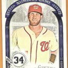 BRYCE HARPER 2016 Topps Allen & Ginter Numbers Game INSERT Baseball Card #NG-94 WASHINGTON NATIONALS