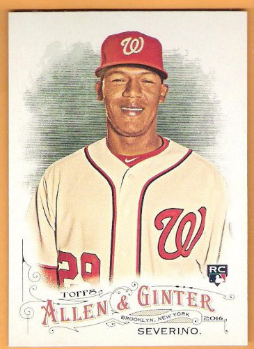 PEDRO SEVERINO 2016 Topps Allen & Ginter SHORT PRINT ROOKIE Baseball Card #318 WASHINGTON NATIONALS