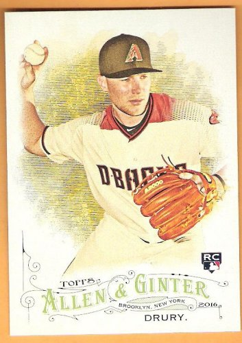 BRANDON DRURY 2016 Topps Allen & Ginter ROOKIE Card #225 ARIZONA DIAMONDBACKS Baseball FREE SHIPPING
