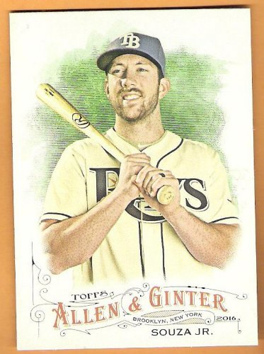 STEVEN SOUZA JR 2016 Topps Allen & Ginter Baseball Card #164 TAMPA BAY RAYS FREE SHIPPING 164 A&G
