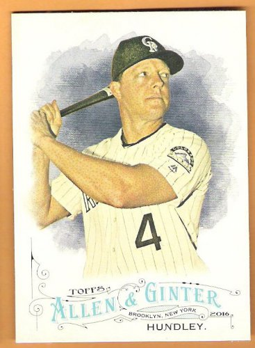 NICK HUNDLEY 2016 Topps Allen & Ginter Baseball Card #91 COLORADO ROCKIES FREE SHIPPING 91