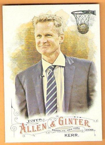 STEVE KERR 2016 Topps Allen & Ginter Baseball Card #160 Basketball Coach FREE SHIPPING 160