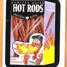 BOWLING GREEN HOT RODS 2016 Topps Baseball Wacky Packages Sticker Card #67 Oddball FREE SHIPPING