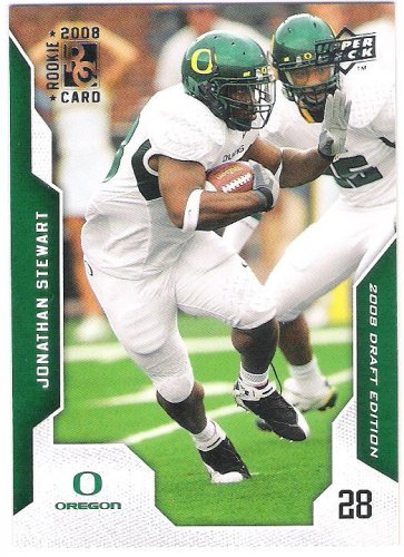 JONATHAN STEWART 2008 Upper Deck Draft Edition ROOKIE Card #54 Carolina Panthers FREE SHIPPING