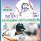 COLUMBUS CLIPPERS 1999 Season Pocket Schedule Cooper Stadium FREE SHIPPING New York Yankees Minors
