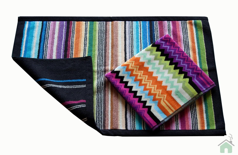 Towels set 1+1 Missoni Home Giacomo 156 + Missoni Hill bathmat